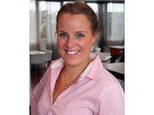 Josefine Jerlström, ny ordförande för Naturvetarnas studentråd