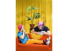Ur föreställningen Lill-Zlatan och morbror raring