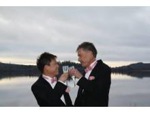 Makarna Roy och Håkan från Kinna