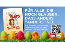 Buch Flups und Flaps Auf Abenteuerlichen Wegen