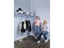 Målade hem – Anja & Filippa med Caparol Färg - Matt och blankt