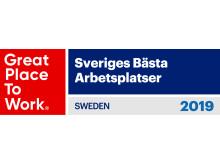 Sveriges Bästa Arbetsplatser, Great Place To Work