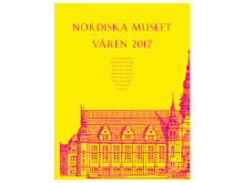 Nordiska museets programtidning våren 2017. Form: Stockholm Graphics