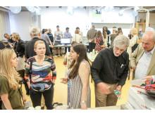 Stockholmspolitiker besöker Kista Mentorspace maj 2018