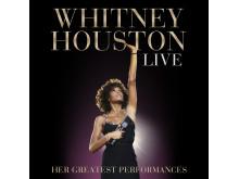 Whitney Houston Live - albumomslag