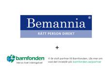 Bemannia stödjer Barnfondens fadderbarn