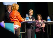Idrottsminister Annika Strandhäll intervjuades på Öppna Scenen
