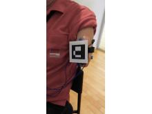 Referensmarkör och elektroder