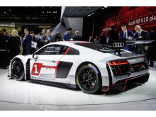 The new Audi R8 LMS on the Geneva Motorshow 2015