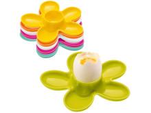 Färgglada äggkoppar!