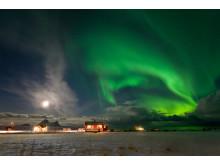 Nordlicht bei Bø, Vesterålen