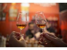 En Öl & Whiskymässa inför ett helt nytt kontaktlöst system. Det nya dryckeskortet ökar säkerheten, vilket varit avgörnade.