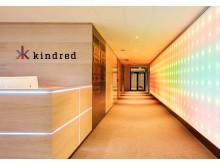 Bild från reception hos Kindred