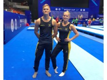 Världscup i DMT, Gustav Tingelöf och Lina Sjöberg