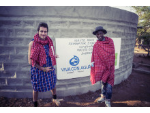 Kenya MICHA FRITZ & OCTOPIZZO Water Tank by Paul Ripke