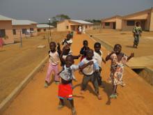 Barnbyn i Bouar, Centralafrikanska republiken