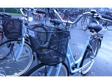 Cykelpool på Centralsjukhuset Kristianstad
