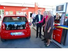 OKQ8 och E.ON inviger tankställe för fordonsgas