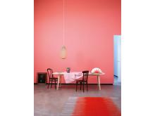 Rosa väggfärg från Jotun