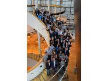 Elevator Pitch der Stiftung für Technologie, Innovation und Forschung Thüringen am 14.06.16 in Erfurt. Im Bild Pitcher, Teilnehmer Innovationsarena und Organisatoren.