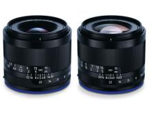 Zeiss Loxia 35mm F/2 & 50mm F/2 gruppbild