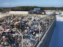 Stödmurar och planlager för effektiv materialhantering