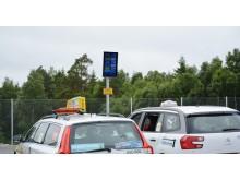 Ny taxiparkering på Landvetter främjar miljöfordon