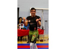 Zé Macedo winning the finals of the open weight at the Northwest Open BJJ Tournament