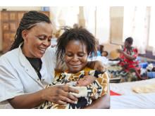Rädda liv - köp en förlossning i morsdagspresent
