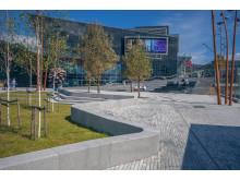 Straume sentrum vant BOBY-prisen 2016. Norconsult har utviklet områdeplanen.