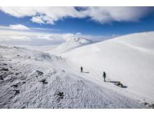 Langrendsspor i Lofsdalen