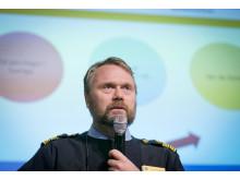 Niclas Hallgren - Polisen. Båtmässan 2014