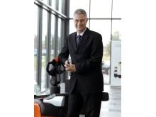 Matthias Fischer, verkställande direktör på Toyota Material Handling Europe