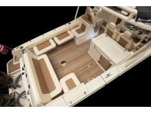 High res image -Chris-Craft Balearics-  Aft seating