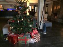 Julgranen, julklappsinsamling