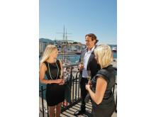 Die traditionsreiche Hansestadt Bergen ist Zentrum für Meetings und Kongresse im Fjordland