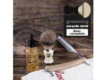 Grooming Awards 2018 - Bästa varumärke - Captain Fawcet