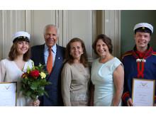 Anders Wall-stipendium till elever vid Katedralskolan