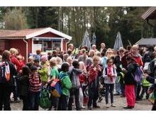 Skräpplockare fick fri entré till Borås Djurpark