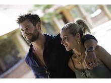 Chris Hemsworth ja hänen vaimonsa Elsa Pataky vierailemassa Jacob's Creekin viinitalolla Australiassa