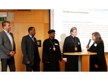 Välkomnande av  nya kyrkor i Sveriges kristna råd.