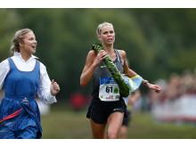 Maria Larssonh, Örgryte IS, tar sin 2:a raka seger i TCS Lidingöloppet 30