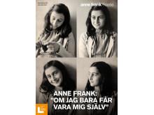 Miniutställning med utgångspunkt i Anne Franks liv