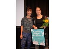 Mottagare av Isabellestipendiet, plåtslagaren Mathilda Klinger Danielsson