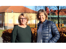 Agneta Jonsson och Susanne Thulin