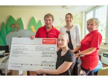 Spendenübergabe Kinderonkologie Helios Klinikum
