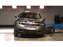 Citroen C5 Aircross Side crash test April 2019