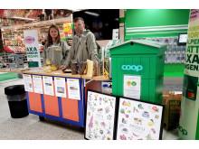 Luleå biodlarförening på Coop Storheden
