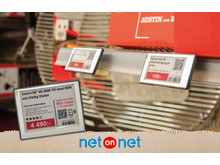 NetOnNet inför elektroniska hyllkantsetiketter i sina Lagershoppar