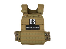 Battle Vest front grün 10031688